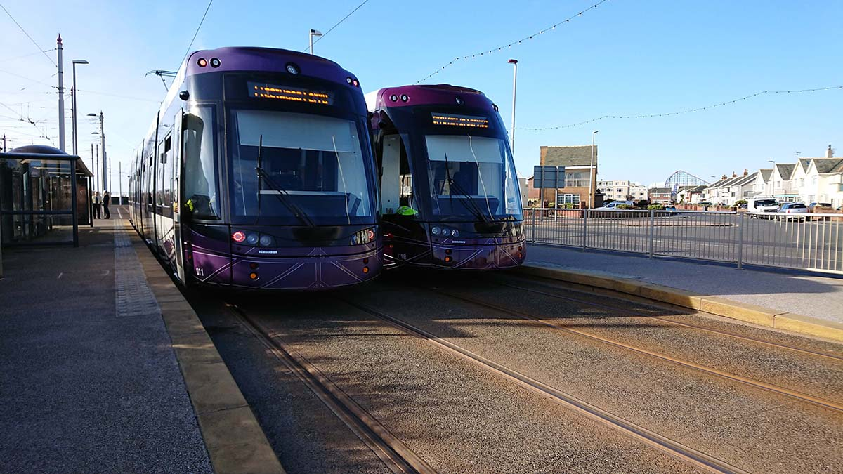 LRTA Sponsors Light Rail Conference in Blackpool