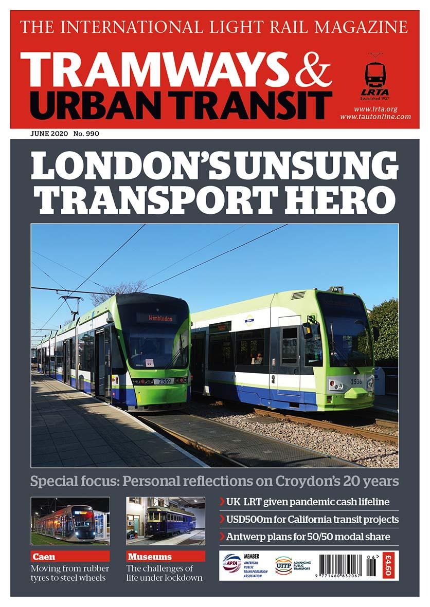 Tramways and Urban Transit June 2020
