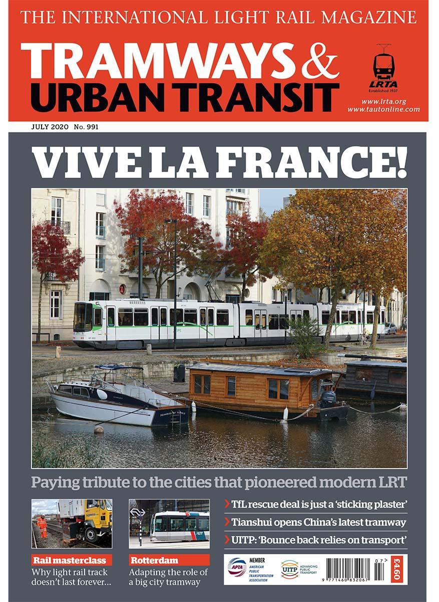 Tramways and Urban Transit July 2020