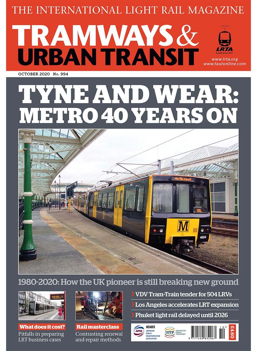Tramways and Urban Transit October 2020