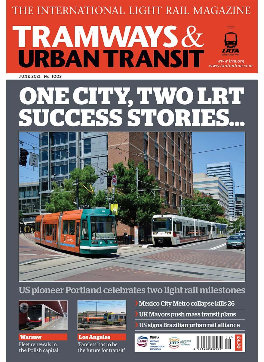 Tramways and Urban Transit June 2021