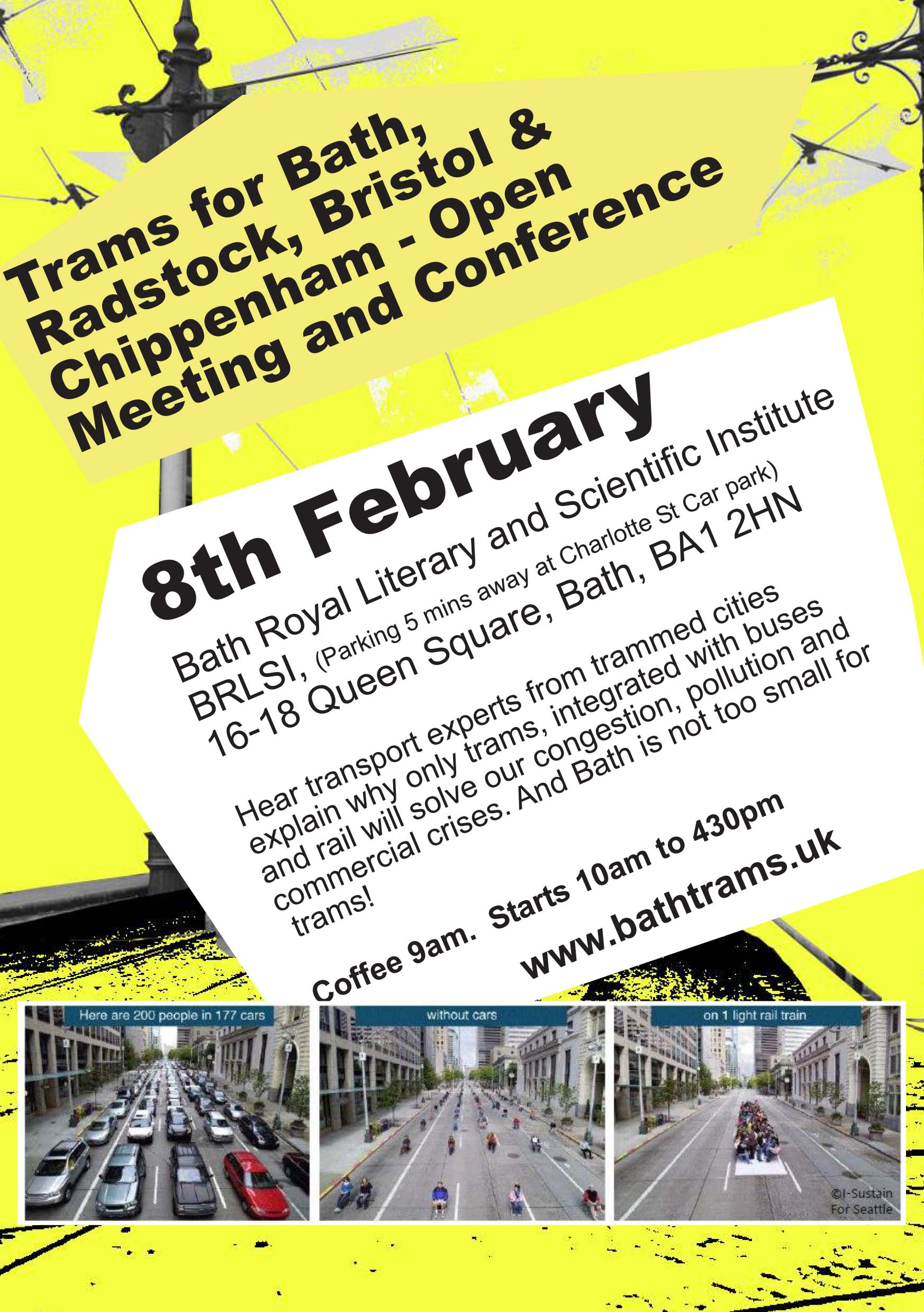 Another Successful Bath Trams Conference