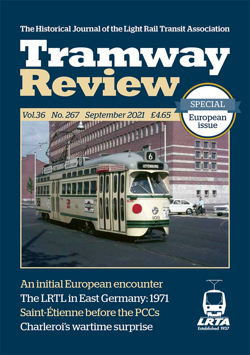 Tramway Review September 2021