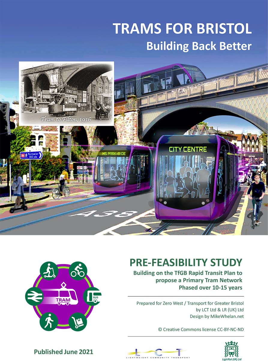 Trams: the best mass transit choice for Bristol