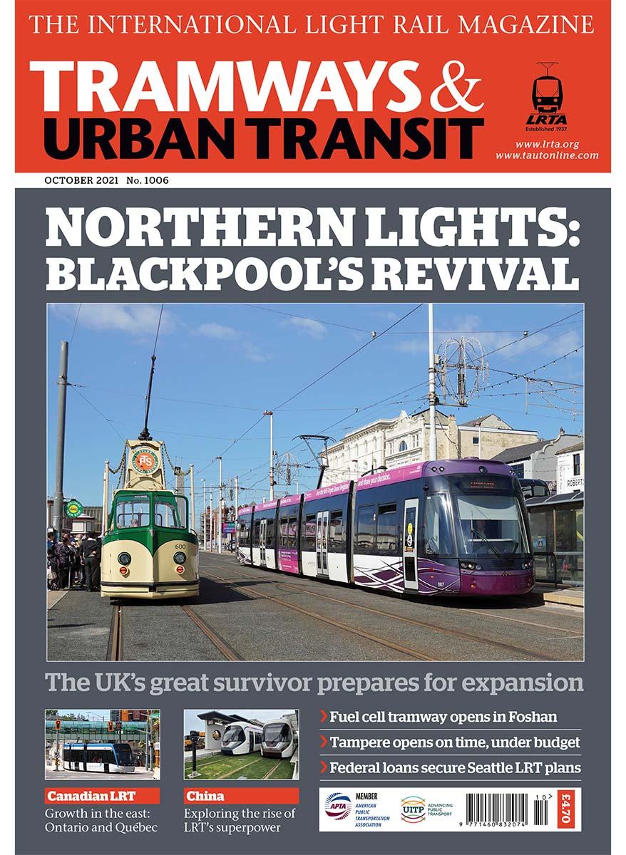 Tramways and Urban Transit October 2021