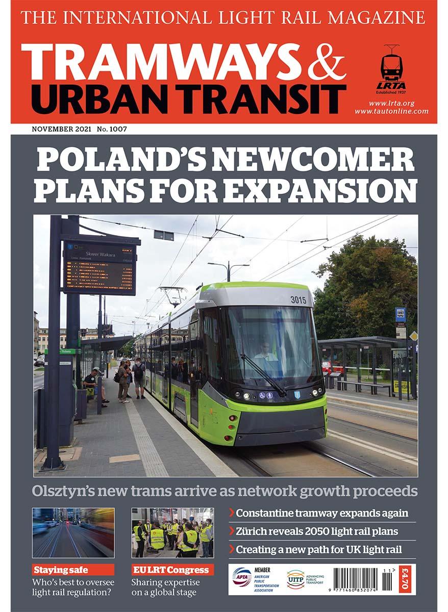 Tramways and Urban Transit November 2021