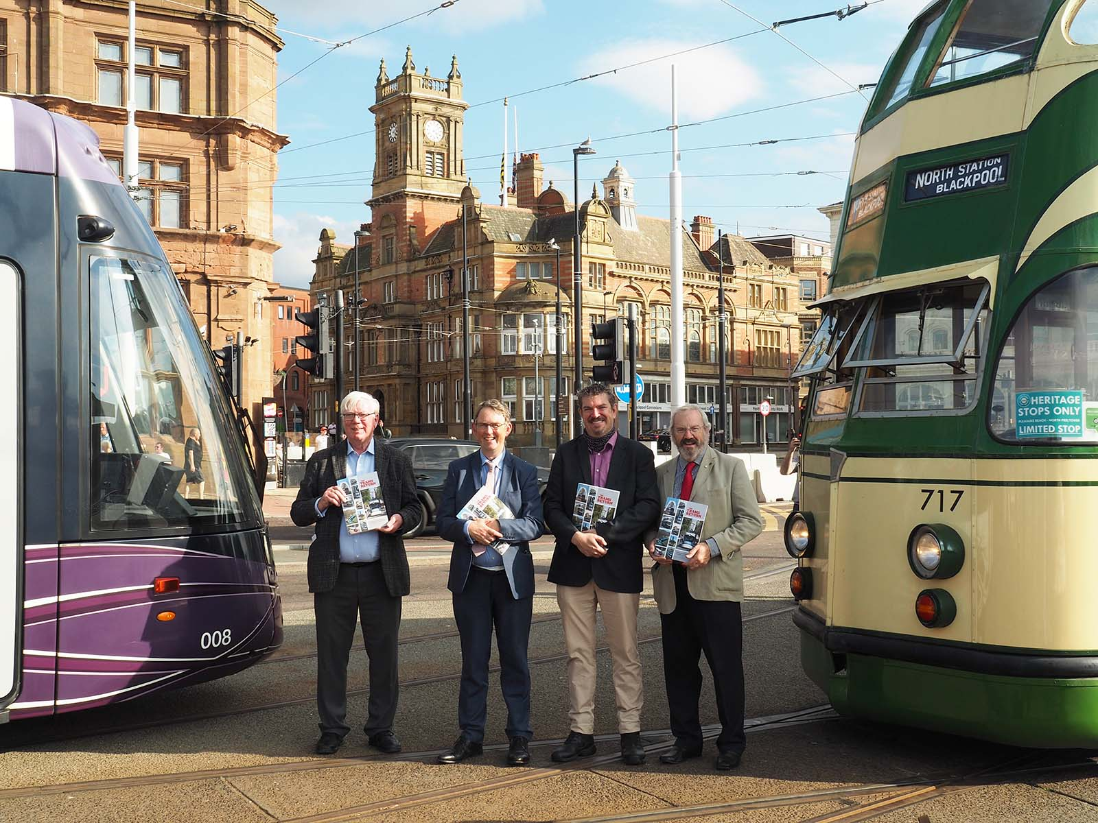 MP Launches 'The Trams Return' Book
